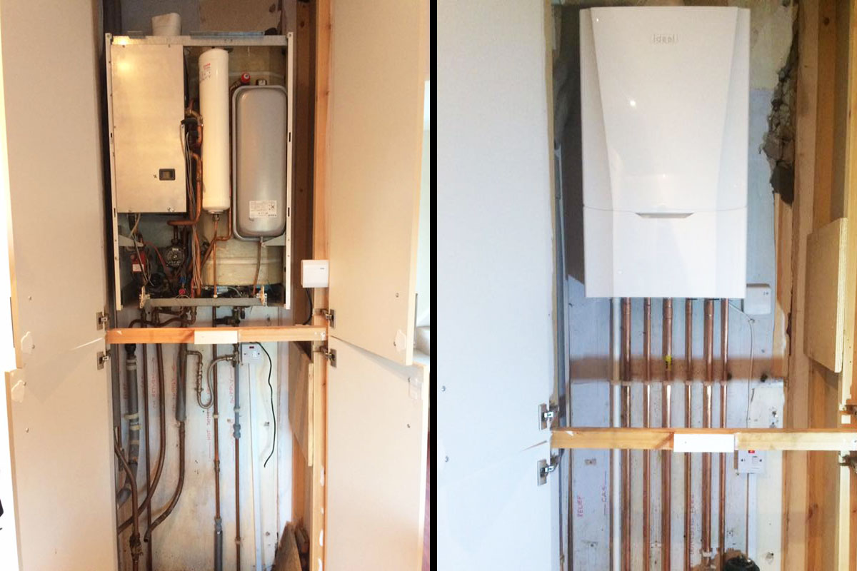 Taylor-Gas-Services---New-Boiler-Leeds-Job-Before-After